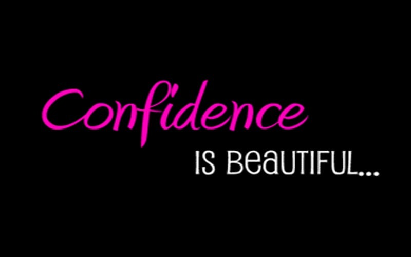 what makes a girl confident