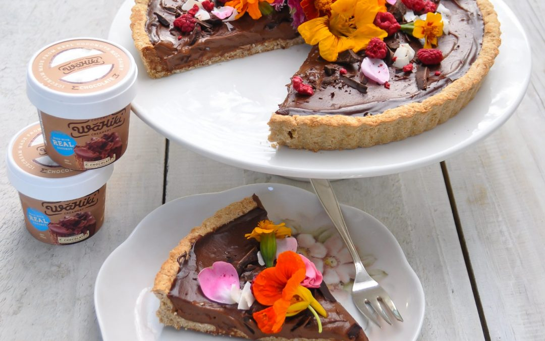 Gluten Free Wahiki Coconut Chocolate Mousse Tart